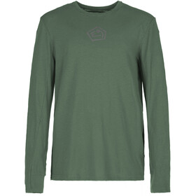 E9 Lino Longsleeve T-Shirt Men, sage-green